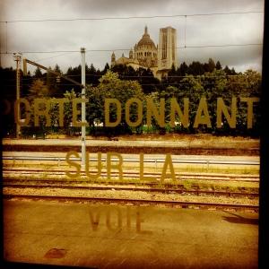 Train en gare de Lisieux