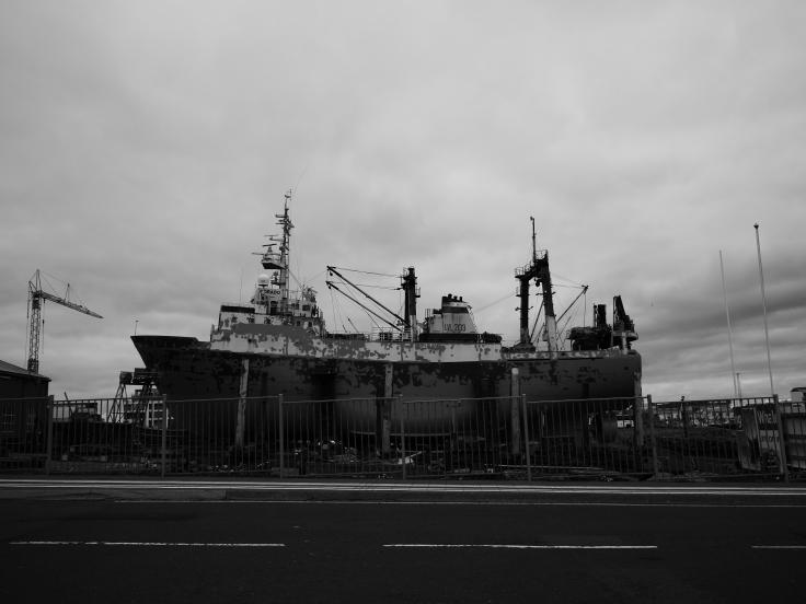 Un bateau perdu comme moi ce soir là à Rekjavik