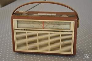 Ancienne radio TSF Philips All Transistor
