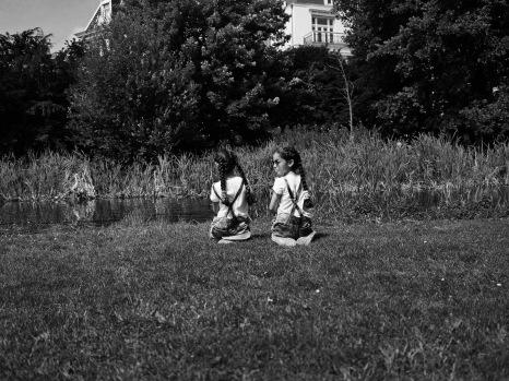 Deux paire de nattes au Vondelpark