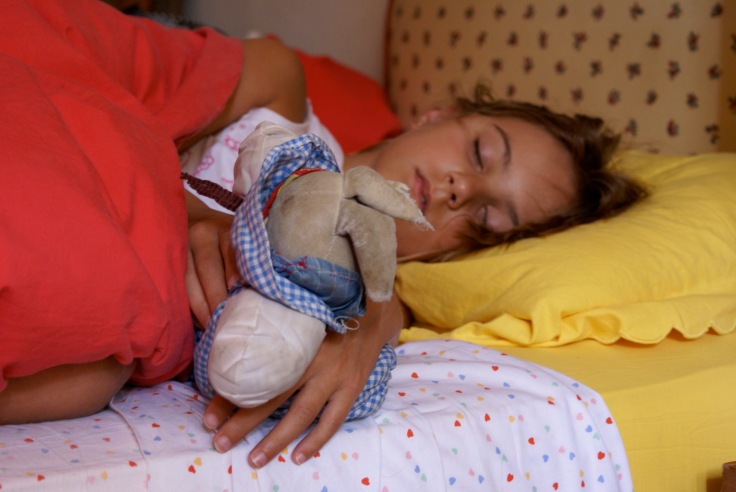 26 Août 2007 Jeanne dort