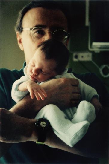 Marianne 22 Septembre 1992 dans les bras de son papa